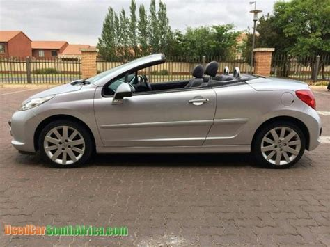 peugeot sa used cars 2009 peugeot 207 cabriolet used car for sale in