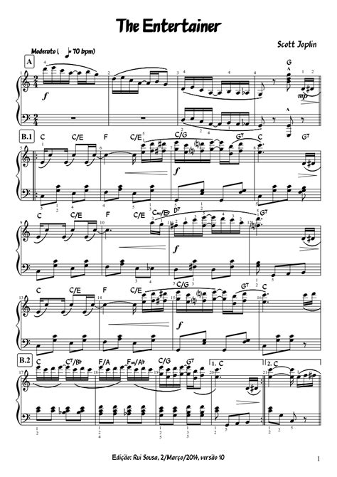 Sheet music sales from usa. The entertainer easy piano sheet music free pdf - heavenlybells.org