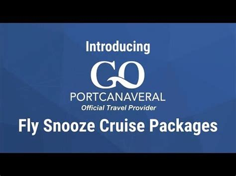 Go Canaveral by Fly Snooze Cruise With Go Canaveral