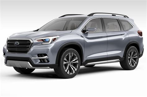 subaru america subaru goes big in america with new ascent suv concept by