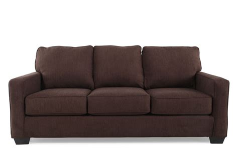 Sleeper Sofa Contemporary by Contemporary 82 Quot Sleeper Sofa In Espresso Mathis