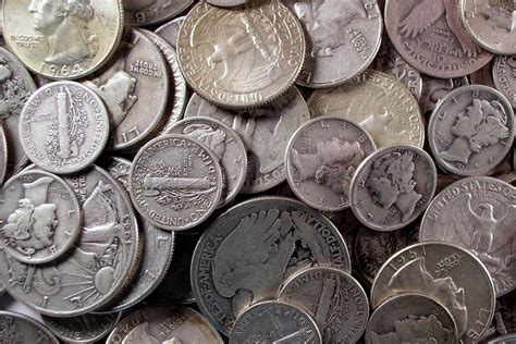 coins silver coin value money worth bag much bullion survival melt currency junk circulated future hippie pound half standard learn