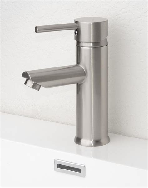 faucet placement for kitchen sink bathroom interesting brushed nickel bathroom faucets for