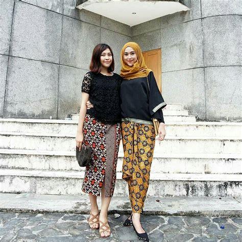Menjadi Wanita Dewasa Yang Baik 12 Contoh Model Baju Batik Muslim Atasan Untuk Wanita Modern