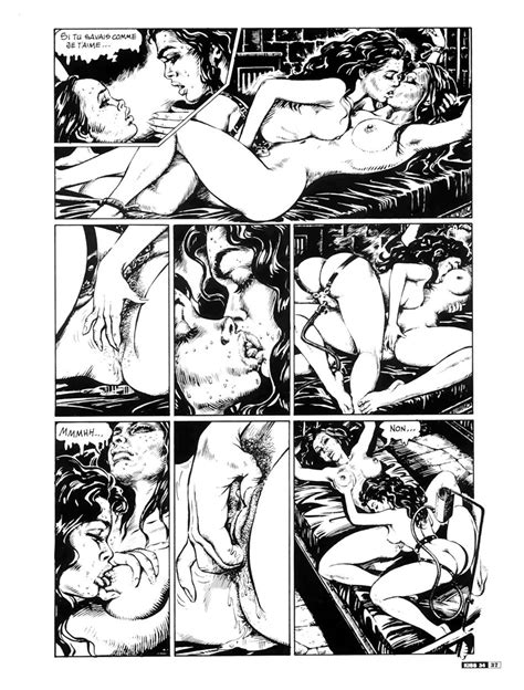 Frenchkiss Bdsm Sex Action In Classic Adult Comics