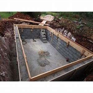 combien de temps faut il pour construire une piscine With construire une piscine en beton