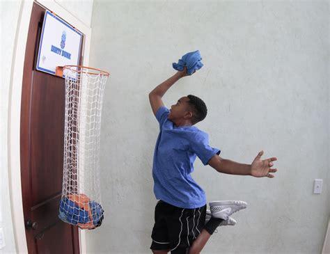panier linge sale enfant sans pression dunk la pani 232 re 224 linge sale qui fait 233 galement panier de basket