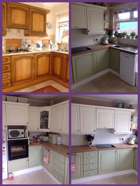 Paint Cupboards Kitchen by My Kitchen Make I Used Ronseal Kitchen Cupboard