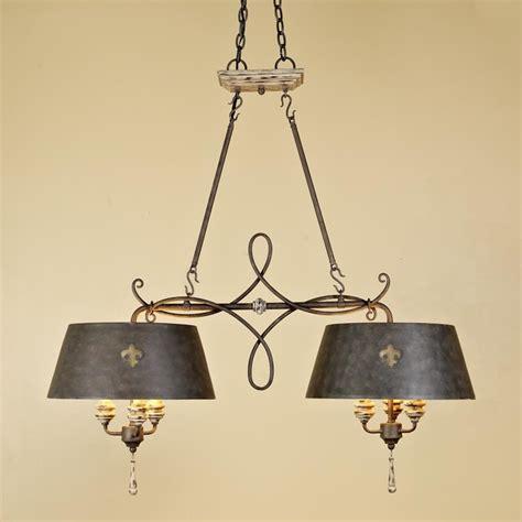 fleur de lis island chandelier chandeliers by shades