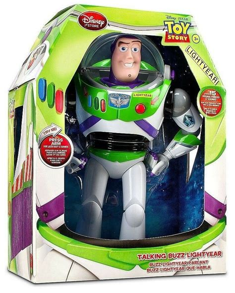 New Toy Story Advance Buzz Lightyear Pop Out Wing