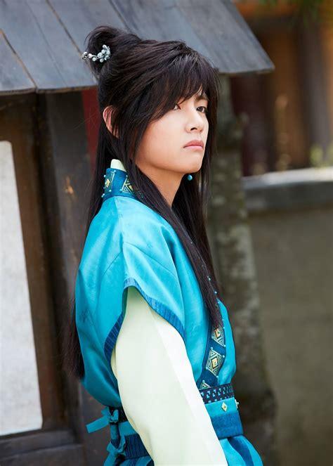 picture kim taehung bts   hwarang