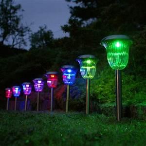 Lumiere Jardin Solaire : lumiere de jardin solaire lampe spot pot caillou solaire ~ Premium-room.com Idées de Décoration