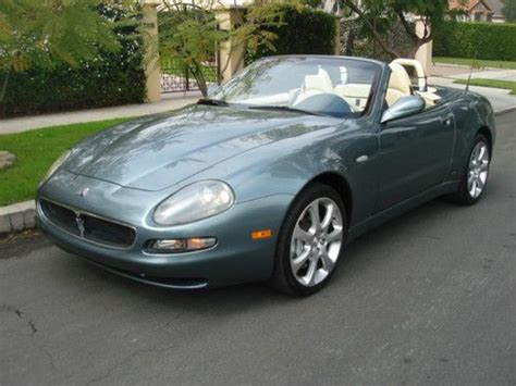 Purchase Used 2002 Maserati Spyder Gt Convertible 2-door 4
