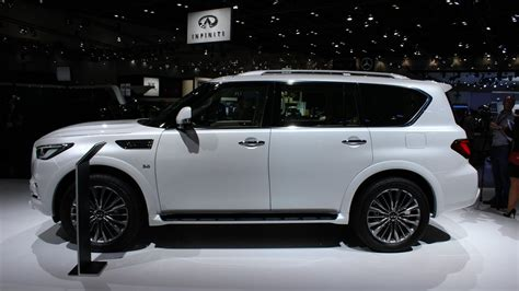 Infiniti Qx80 New Style 2018 by 2018 Infiniti Qx80 Suv Is A Deluxe Dubai Debut Roadshow