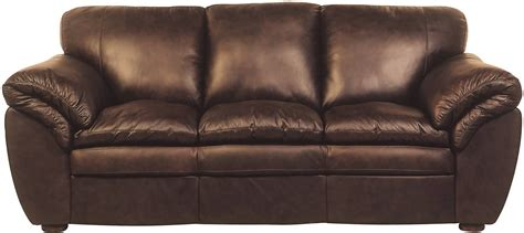 The Brick Leather Sofa by The Best The Brick Leather Sofa