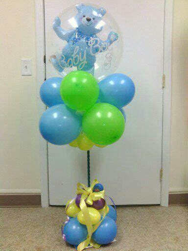baby shower centerpieces with balloons balloon centerpiece baby shower baby shower ideas pinterest