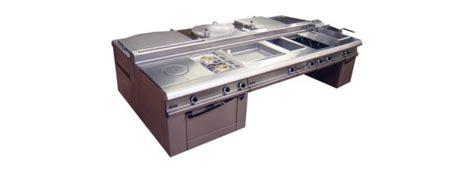 fourneau de cuisine fourneau central ou adossé espace hôtelier languedoc