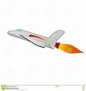 Vector Illustration Of A Cartoon Space Shuttle Stock ...
