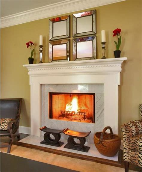 beautiful  warming fireplaces  cozy home