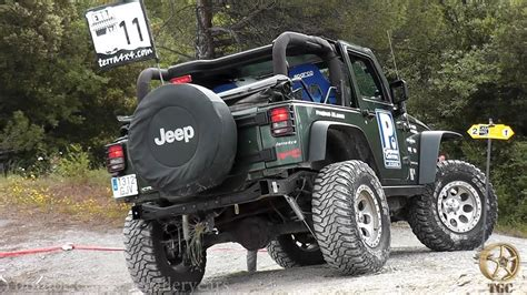 Jeep Wrangler Rubicon Off-road Trial 4x4 -3