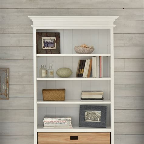 white solid wood bookcase tikamoon solid mahogany and pine bookcase painted white 3