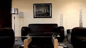 Salon canape fauteuil tissu 13 idees de decoration for Salon canapé fauteuil
