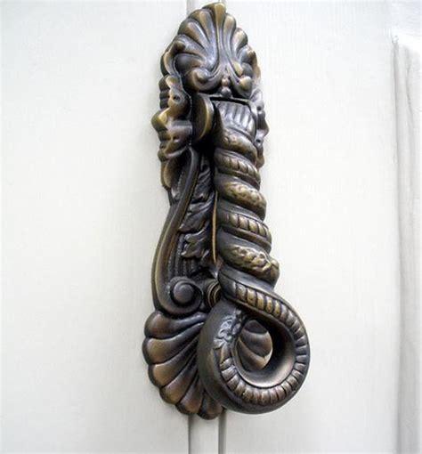 unique door knockers 25 cool and door knockers design swan
