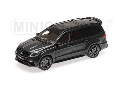 Do you want to sell your car? Brabus Mercedes Benz | 850 2017 Black | 1:43 | Minichamps ...
