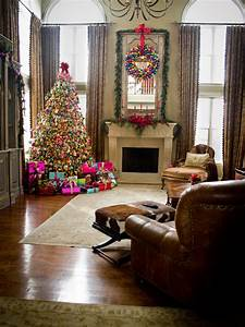 Christmas Living Room Decorations Ideas Pictures