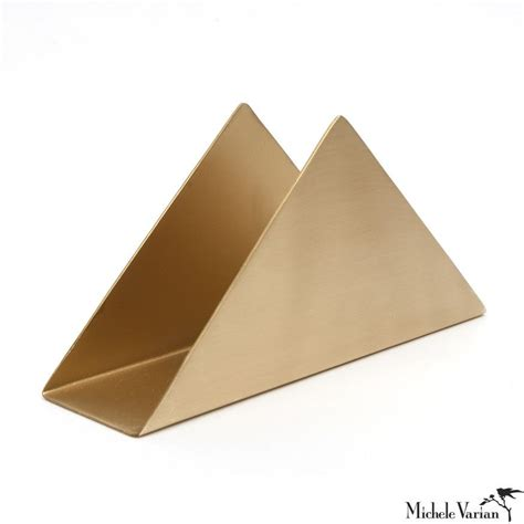 brass desk  counter caddy coffee filter holder brass