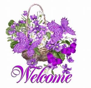 Image - Purple butterfly flowers welcome 725411.png 480 ...
