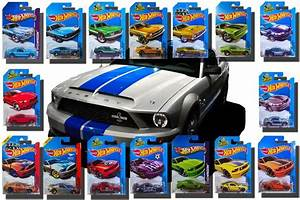 mustang hot wheels Coleccion Mustang 1965 A 2015 Hot