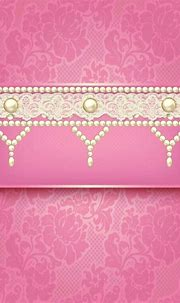Wallpaper...By Artist L... | Pink wallpaper, Pearl and ...