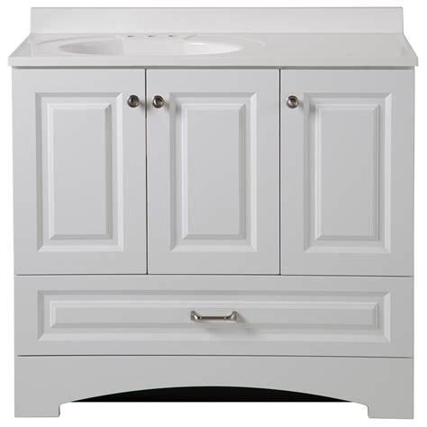 glacier bay bathroom cabinets glacier bay lancaster 36 5 in w x 19 in d bath vanity