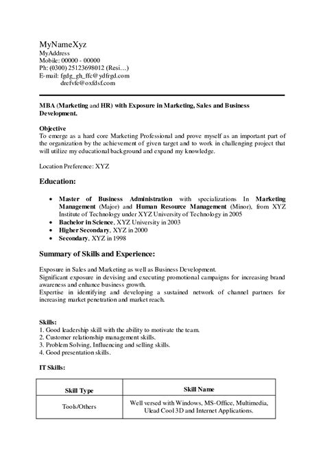 objective in resume for freshers resume corner