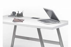 Bureau Pas Cher Blanc : bureau blanc pas cher cbc meubles ~ Teatrodelosmanantiales.com Idées de Décoration
