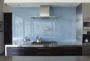 Back Painted Glass Diy Kitchen Contemporary With Glass