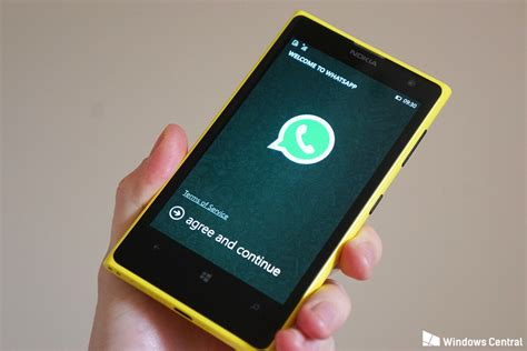 phone gets whatsapp for windows phone gets yet another minor update