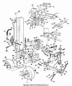 Mtd 247d585c190 31 Ton Log Boss  1997  Parts Diagram For