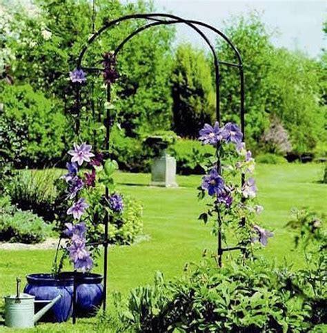 Arch Garden Trellis Arbor Rose Climbing Plants Yard