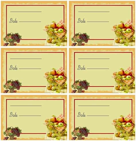 etiquettes pour confiture maison 224 imprimer la p tite cuisine de sybille