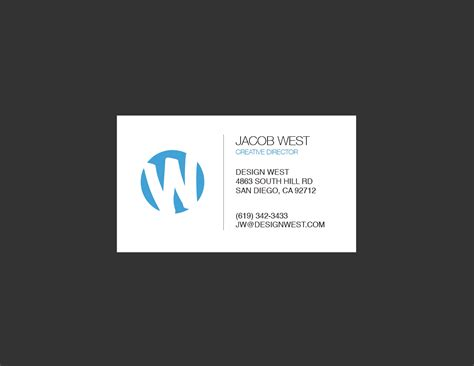 Simple And Clean Business Card Design Best Business Cards Design Online Artist Ideas Makeup Free Social Media Logos Metallic Logo Credit No Personal Guarantee Required Simple Black In Nyc