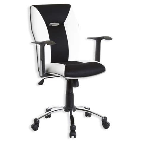 bureau basika dirk bureaux sièges fauteuils fauteuil de bureau blanc
