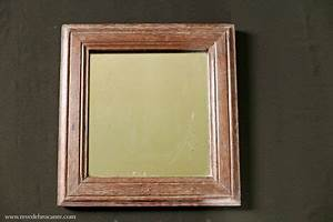 Miroir Ancien Le Bon Coin : miroir ancien en ch ne r ve de brocante ~ Teatrodelosmanantiales.com Idées de Décoration