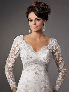 2015 backless long sleeve wedding dress bridal gown custom With wedding dresses for older women