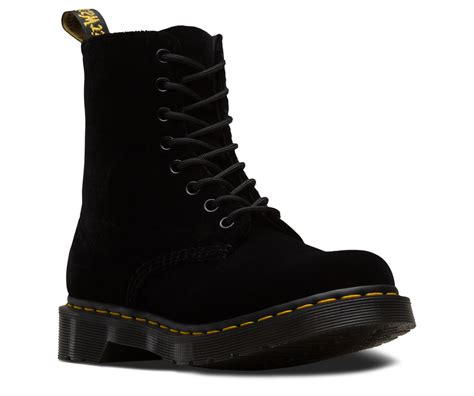 pascal velvet womens boots shoes sandals dr martens official