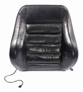 Rh Front Black Leather Seat Back Rest 00