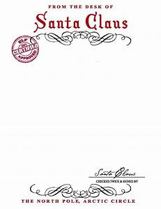 17 best ideas about santa letter template on pinterest With a letter from santa free