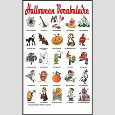 Halloween Vocabulaire  Education  Learn French, French Worksheets, Halloween Vocabulary