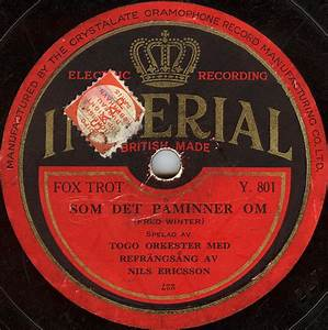 Imperial Records  1920